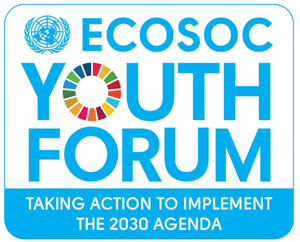 """""""Los jóvenes actúan para implementar la Agenda 2030″, Foro de la Juventud del ECOSOC 2016"""